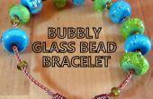 Pétillante Bracelet de perles de verre