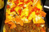Ultime tacos lasagne délicieux encore rapport parfait:) sain de trempette et tortilla chips du bit à jamais mordre !