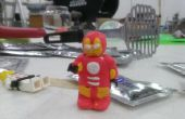 Sugru Iron Man armure pour vous figurine LEGO