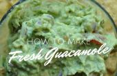 Comment faire le Guacamole frais