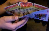 Génial portefeuille fabriqué à partir de cartes à jouer