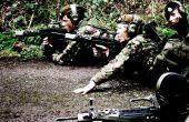 (Cadets de l'armée) Ensemble de la sangle vers le haut
