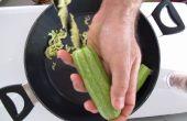 Cuisiner avec des outils électriques : farcies Zucchinnis