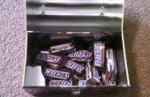 Snickers cachant des lieux