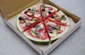 Fruits et pastèque Pizza