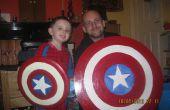 Variant les boucliers de taille capitaine Amérique