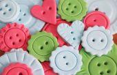 Comment faire des boutons de décoration fondant au