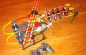 Knex hélicoptère (avec moteur)