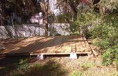 Como construir un « piso o plataforma flotante » para su patio