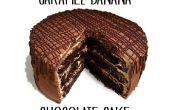 Banane au caramel Gâteau au chocolat
