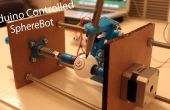 3D imprimé Arduino contrôlée Eggbot/Spherepot