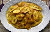 Poêlée de chips de banane plantain