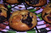 Muffins déjeuner aux bleuets d'épeautre complet !