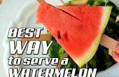 Meilleure façon de servir une pastèque