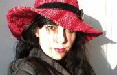 Chapeau au Crochet rouge