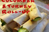 Roulez le concombre de Turquie