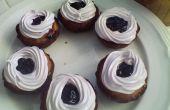 Très petits gâteaux aux bleuets de Berry