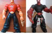Homme d'action à Hellboy