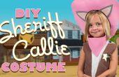Costume de Callie shérif bricolage