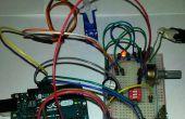 ArduinoUNO, Bluetooth y servomoteur de commande