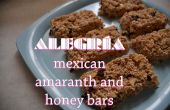 Alegria - Amarante mexicain sain et barres miel