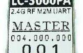 2,4 guide de l'utilisateur pour le M2M RF UART Module débogueur G