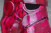 Casque de stormtrooper starwars à l'aide de mousse eva