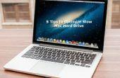 5 conseils pour optimiser dur lent Mac Drive
