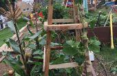 Treillis jardin palette