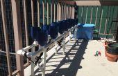 Le jardinage urbain - culture hydroponique balcon