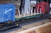 Revitaliser un wagon HO avec... Cure-dents !