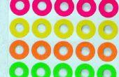 Identifier les prises audio avec des étiquettes colorées