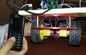Mobile contrôlée voiture robotisée en utilisant arduino et DTMF