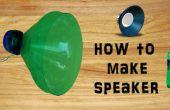 Comment faire le haut-parleur avec une bouteille en plastique Simple & facile bricolage