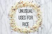 Utilisations inhabituelles pour riz