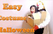 Un monstre vous transporter. Le meilleur costume DIY dernière minute #Halloween