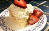 * Tres de tricheur Leches Cake : parfait pour votre bien-aimée