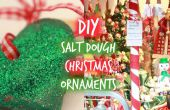 Allemand inspiré des ornements de Noël de pâte à sel