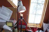 Lampe de bureau trépied