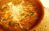 Comment faire de soupe au Pistou