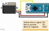 Servo-moteur de balayage avec Arduino Nano