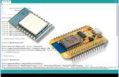 Mise en place de l'IDE Arduino au programme ESP8266