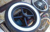 Faire des moyeux de roues de vélo large et se joindre à eux pour jantes de voiture !