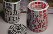 Pouvez Art : Une manière à recycler quelques boîtes de conserve