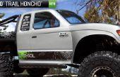 Axial SCX10 Honcho 4-lien arrière aluminium Upgrade