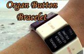 Faire un Bracelet de bouton orgue rétro - l'orgue donneur projet partie 4