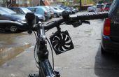 Chargeur de téléphone cellulaire (éolienne avec construit dans la batterie) de vélos