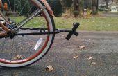 Vélo d'attelage - de fourche arrière d'une autre moto