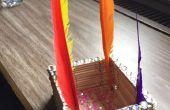 Comment faire un bâton de Popsicle porte-crayons