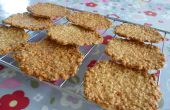 Tuiles de l'avoine (biscuits croustillants) - recette facile